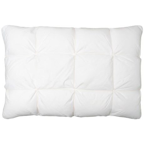 Soft Tex Memory Foam Baffle Box Pillow Standard In White