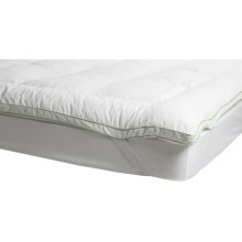 Soft-Tex Memory Loft Deluxe Mattress Topper - Queen in White - Closeouts