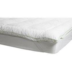 Soft-Tex Memory Loft Deluxe Mattress Topper - Twin in White