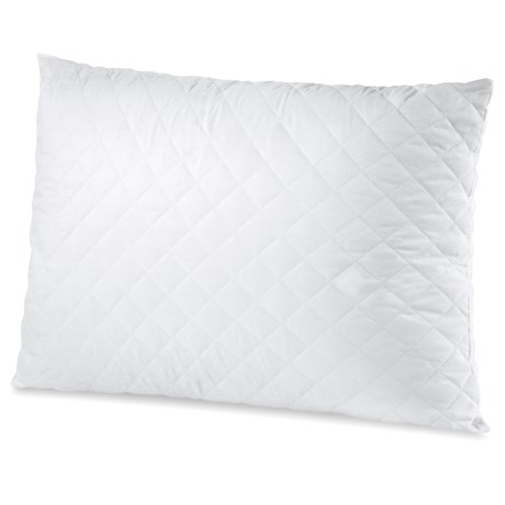 Soft-Tex MemoryLOFT® Quilted Pillow - Standard in White