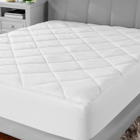 Soft-Tex MicroShield® White Mattress Pad - Twin in White