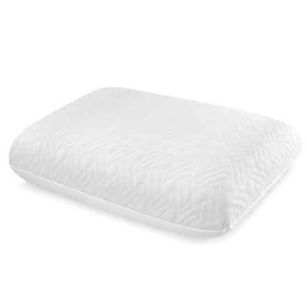 Soft-Tex Sharper Image Gel-Infused Memory-Foam Pillow - Jumbo in White - Overstock