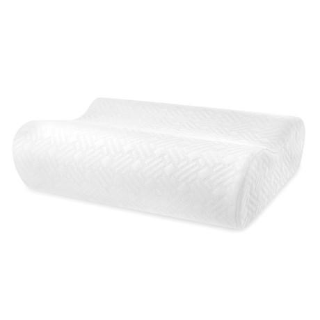 Soft-Tex Sharper Image Gel-Infused Memory-Foam Pillow - Standard in White