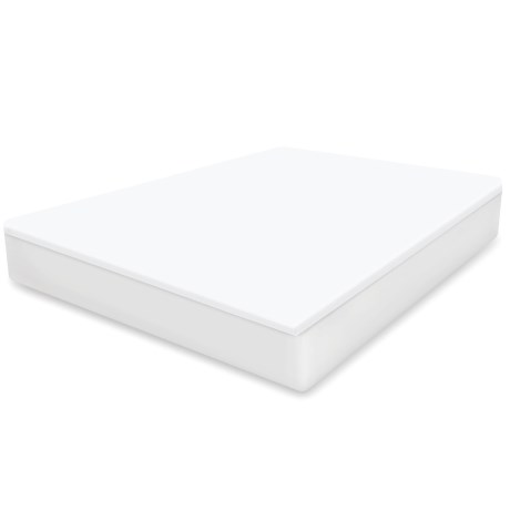 Soft-Tex Waterproof White Mattress Protector - King in White