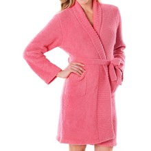 Softies by Paddi Murphy Marshmallow Wrap Robe - Chenille, Long Sleeve (For Women) in Honeysuckle - Closeouts