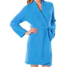 Softies by Paddi Murphy Marshmallow Wrap Robe - Chenille, Long Sleeve (For Women) in Ocean Blue - Closeouts