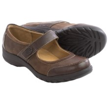 Softspots Acinda Mary Jane Shoes - Leather (For Women) in Chocolate/Drum Brown - Closeouts