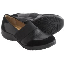 Softspots Adelpha Shoes -Leather (For Women) in Black/Black - Closeouts