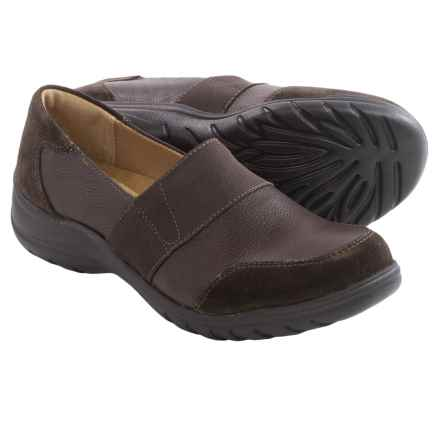 Softspots Adelpha Shoes -Leather (For Women) in Mahogany/Coffee - Closeouts