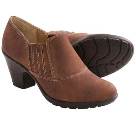 Softspots Cara Ankle Boots - Leather (For Women) in Mocha - Closeouts