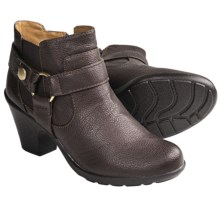 Softspots Carmina Harness Ankle Boots (For Women) in Dark Brown - Closeouts