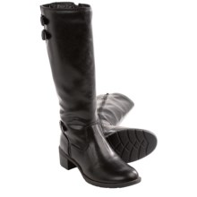Softspots Carter Tall Boots - Side Zip (For Women) in Black - Closeouts