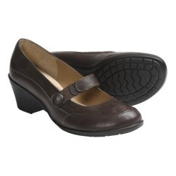 Softspots Daria Mary Jane Shoes (For Women) in Chocolate Suede