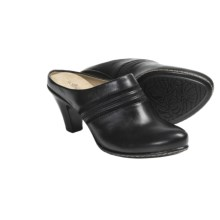 Softspots Ginette Open Back Shoes - Slip-Ons (For Women) in Black - Closeouts