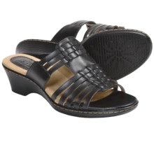 Softspots Helix Sandals (For Women) in Black - Closeouts