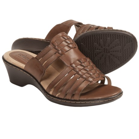 Softspots Helix Sandals (For Women) in Black