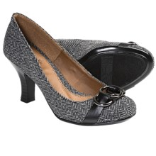 Softspots Kiley Pumps (For Women) in Black Herringbone - Closeouts