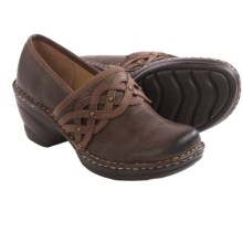 Softspots Lennox Clogs - Leather, Closed Back (For Women) in Coffee/Red Brown - Closeouts