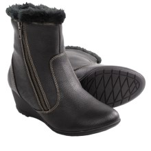 Softspots Odele Ankle Boots (For Women) in Black Pebble - Closeouts