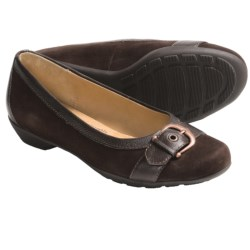 Softspots Presto Slip-On Shoes (For Women) in Chocolate Suede