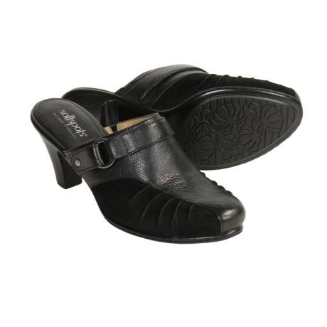 Softspots Sadie Clogs (For Women) in Black