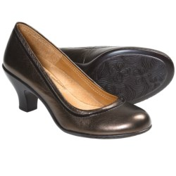 Softspots Salma Pumps - Leather (For Women) in Copper
