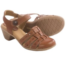 Softspots Shelly Leather Sandals (For Women) in Cork - Closeouts