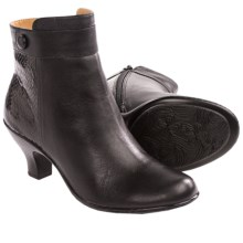 Softspots Sherry Ankle Boots (For Women) in Black/Black - Closeouts