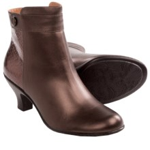 Softspots Sherry Ankle Boots (For Women) in Copper/Dark Brown - Closeouts