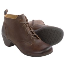 Softspots Sofi Ankle Boots - Leather (For Women) in Drum Brown - Closeouts