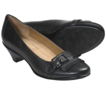 Softspots Solstice Pumps - Leather, Kiltie Accent (For Women) in Black - Closeouts