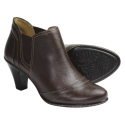 SoftSpots Sookie Ankle Boots - Leather (For Women) in Chocolate