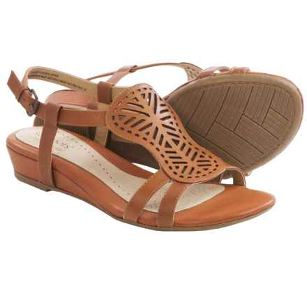 Softspots Susanna Ankle Strap Sandals (For Women) in Cork - Closeouts