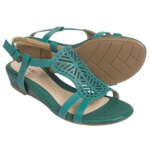 Softspots Susanna Ankle Strap Sandals (For Women) in Turquoise - Closeouts