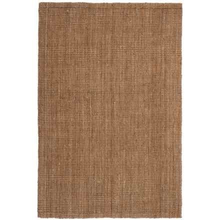 "SOHO Hand-Spun Jute Boucle Area Rug - 5'7""x7'11"" in Natural - Closeouts"