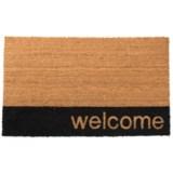 """SOHO Welcome Door Mat - 20x34"""""""