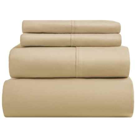 SoHome Studio Cotton Sheet Set - King, 610 TC in Taupe - Overstock
