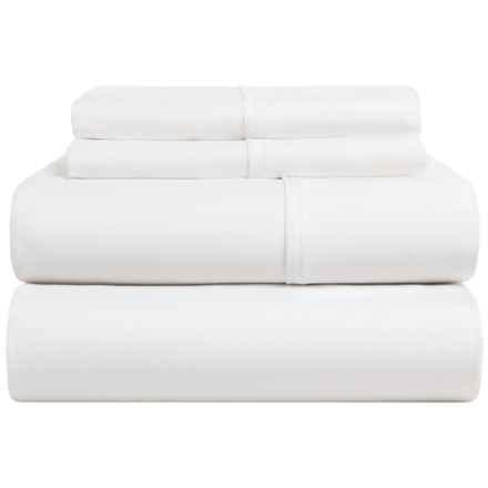 Sohome Studio Cotton Sheet Set - Queen, 400 TC in White - Closeouts