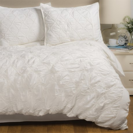 Sohome Studio Manali Duvet Cover Set - Queen in White