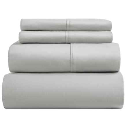 Sohome Studio Sheet Set - King, 610 TC Cotton in Grey - Overstock