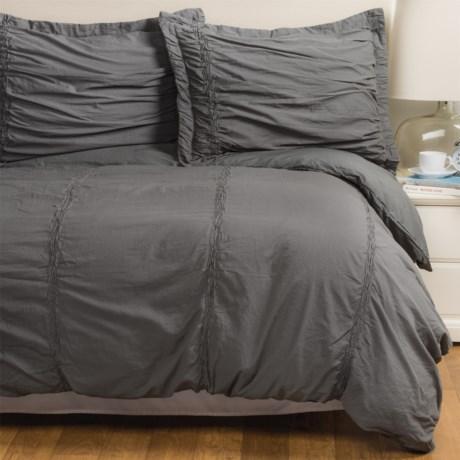 SoHome Studio Tenali Collection Duvet Cover Set - King in Grey