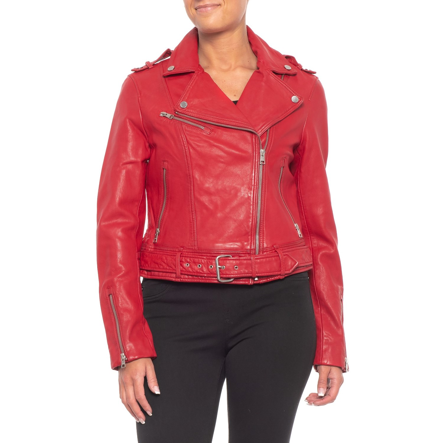 Blazers Canada: Womens Leather Moto Jackets Canada