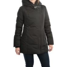SOIA & KYO Debra Down Coat - Trim Fit (For Women) in Black - Overstock