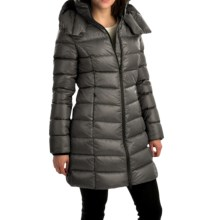 SOIA & KYO Kisha Down Coat - Trim Fit (For Women) in Black - Overstock
