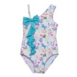 Sol Swim Precious Butterflies One-Piece Swimsuit - UPF 50 (For Infants)