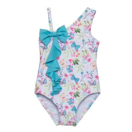 Sol Swim Precious Butterflies One-Piece Swimsuit - UPF 50 (For Infants) in Precious Butterflies - Closeouts