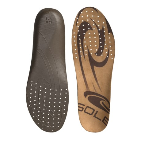 Sole Thin Casual Custom Footbeds - Moldable (For Men) in See Photo