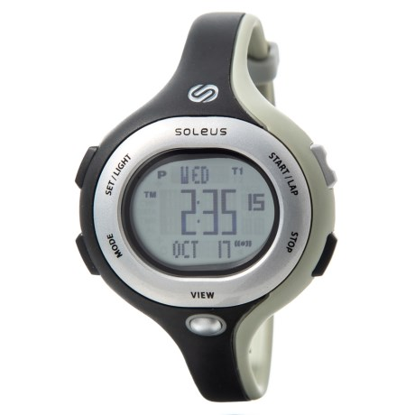 Soleus Chicked Sports Watch (For Women) in Black/Grey/Silver