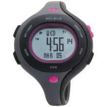 Soleus Chicked Sports Watch (For Women) in Charcoal/Black/Pink - Closeouts