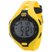 Soleus Dash Digital Sports Watch in Black/Yellow - Closeouts